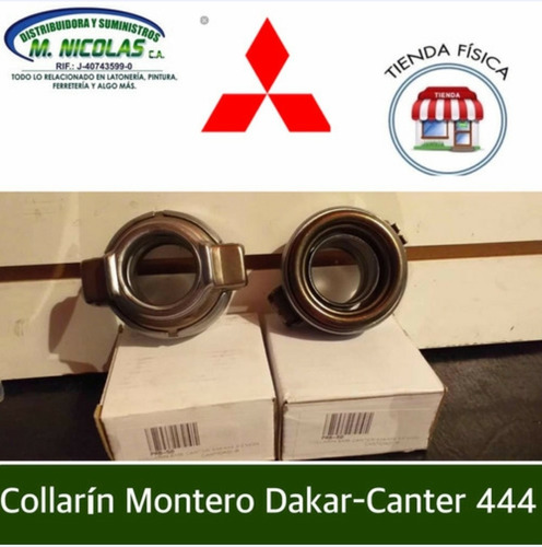 Collarin Mitsubishi Montero Dakar 3.0 Canter 444