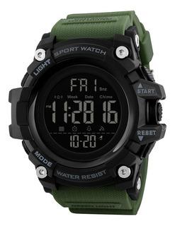 Reloj Hombre Skmei 1384 Sumergible Militar Impacto Online