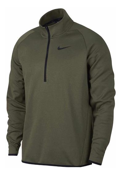 Sudadera Nike Therma 1/4 Cierre Fleece Pullover
