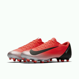 Chuteira Nike Vapor 12 Academy Cr7 Mg Campo Original + Nf