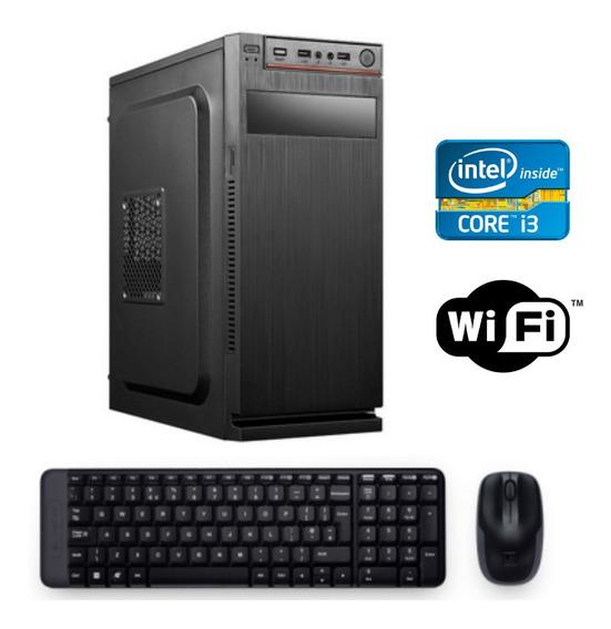 Computador Core I3 8gb 1tb Wind.10 Wifi + Frete Grátis!