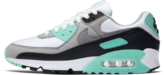 Nike Air Max 90 Og Grey Mint Mujer Original Cod 0183