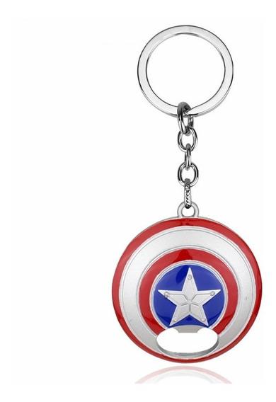 Llavero Destapador Marvel Advengers Capitán América
