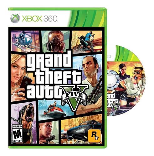 Imagen 1 de 7 de Gta V   Grand T Auto 5  Xbox 360 - Fisico / Mipowerdestiny