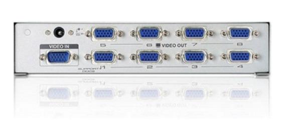 Distribuidor Vga 8 Portas Splitter Divisor Repetidor Monitor