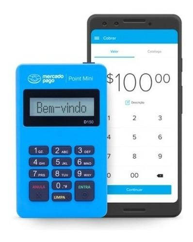 Imagem 1 de 3 de Kit 5 Máquina De Cartões Point Mini D150  Do Mercado Pago