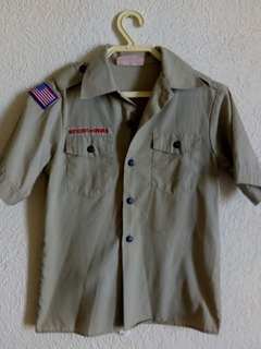 Boy Scouts Camisola Americana Para Niño