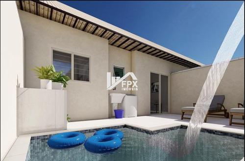 Casa Com Piscina Em Itanhaém, Lado Praia Ca174-f