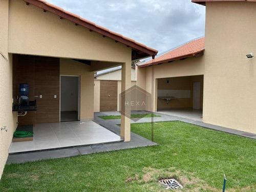 Imagem 1 de 22 de Casa 3 Suítes - Jardim Europa - Goiânia/go - Ca0596
