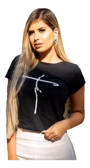 Kit 10 T Shirts Blusas Feminina Roupa Atacado Revenda Barato