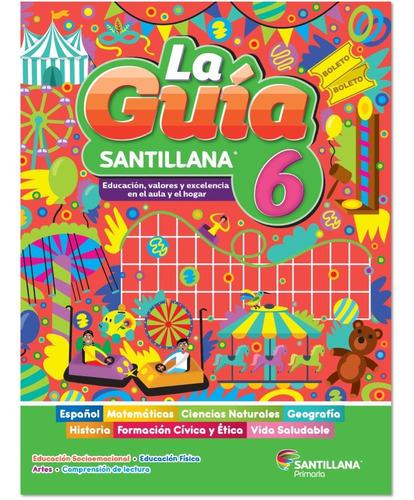 Imagen 1 de 1 de Caja 12 Paq Guía Santillana 6º + 1 Paq Docente
