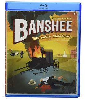 Banshee Segunda Temporada 2 Serie Bluray