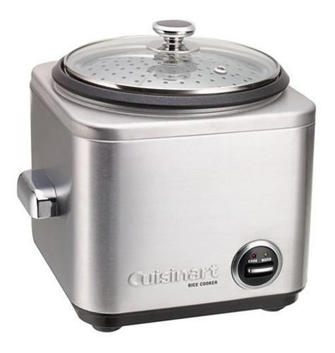 Cuisinart Crc-400 Olla Arrocera Acero Inoxidable 4 Tazas