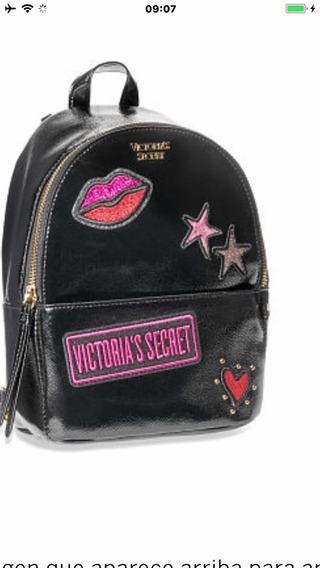 Victorias Secret Olivos Mochila Con Apliques