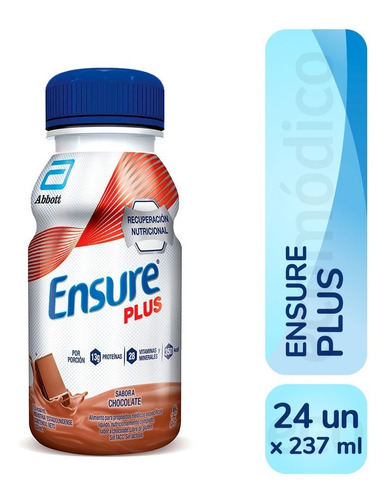 Ensure Plus Liquido 237 Ml Pack X 24 Unidades