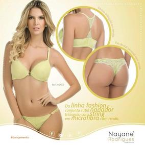aecb55ee3 Conjunto Lingerie Nayane - Lingerie no Mercado Livre Brasil