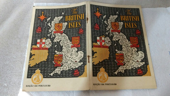Revista As Ilhas Britânicas Edição Em Português 1948 Raro
