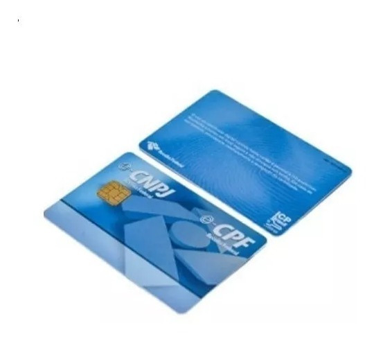 Kit 10 Smart Cards Tokens Para Certificado Digital