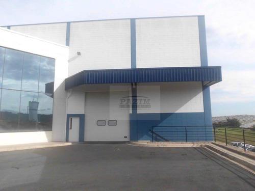 Galpão Industrial Para Locação, 1900 M² - Distrito Industrial - Vinhedo/sp - Ga0124
