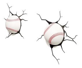 Luminária 3d Light Fx Bolas De Baseball