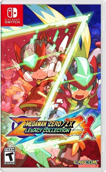 Mega Man Zero/zx Legacy Collection - Switch - Midia Fisica!