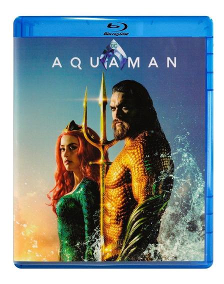 Aquaman Dc Jason Momoa Pelicula Blu-ray