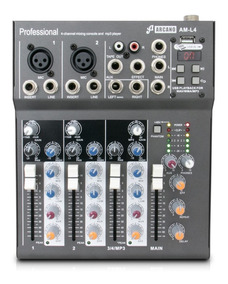 Mesa Arcano Am-l4 Fx Com Efeito 4 Canais E Phantom Power