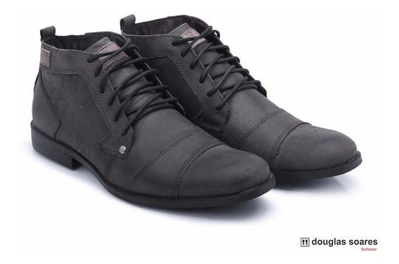 Tenis Sapatenis Bota Casual Sapato Masculino Couro