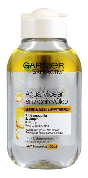 Agua Micelar Desmaquillante Garnier 100 Ml