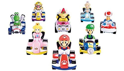 Mario Kart Wario Coche De Personajes Fundido A Presión