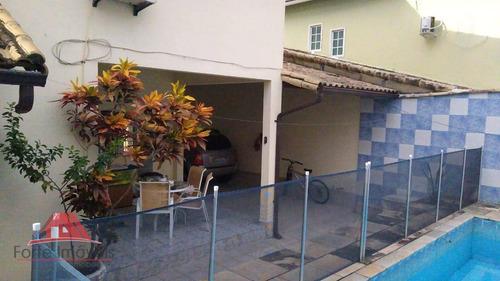 Casa Com 4 Dormitórios  No B. Pedrangular - Ca0564