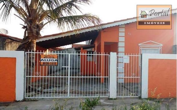 Casa Com 2 Dormitórios Para Alugar Por R$ 900,00/mês - Parque Residencial Califórnia - Campo Limpo Paulista/sp - Ca0320