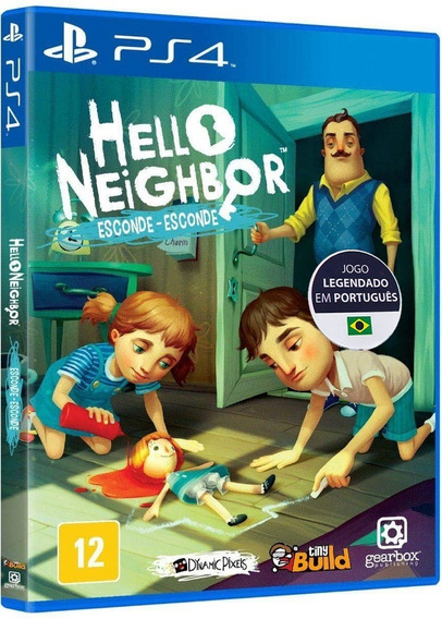 Hello Neighbor Esconde-esconde - Português - [ps4] - Lacrado
