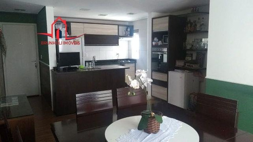 Apartamento A Venda No Bairro Jardim Tamoio Em Jundiaí - - 2849-1