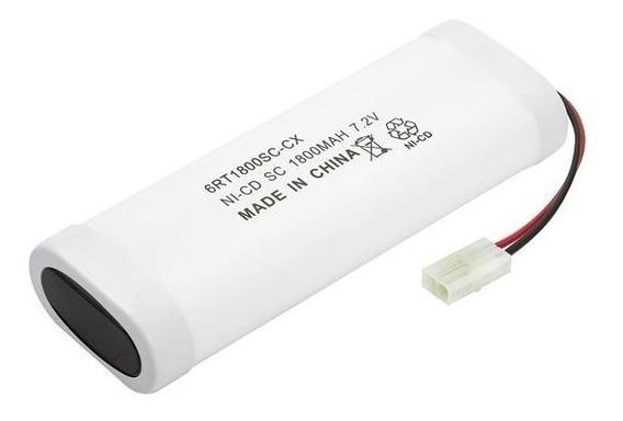 Bateria De Carrinho 7,2v 1800mah Nicd Sc Automodelo Rontek