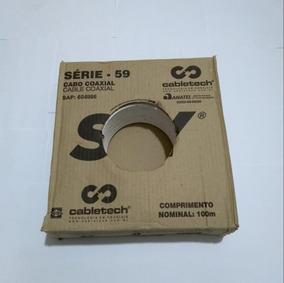 3 Caixa De Cabo Rg59 53% ( Máximo 2 Kit Por Compra )