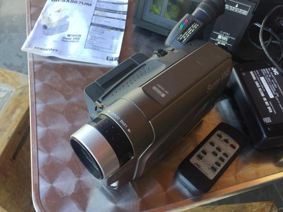 Filmadora Jvccompact Vhs Camcorder Grsx867um (com Defeito)