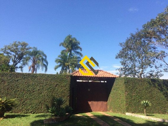 Chácara Com 3 Dormitórios À Venda, 800 M² Por R$ 385.000 - Jardim Colonial I - Araçoiaba Da Serra/sp - Ch0019