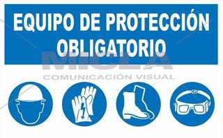Cartel Normas De Seguridad Obligatorias Obras Y Fábricas