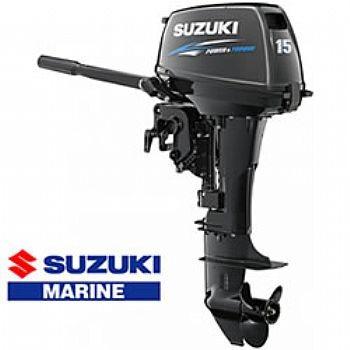 A Motor De Popa Suzuki 15 Hp Okm Melhor Preço 12 Vezes !