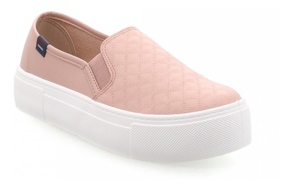 Pancha Mujer Plataforma 3.5 Cm. Moleca Zapato 5658-100