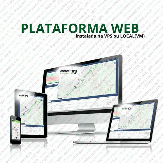 Plataforma Rastreador Instalado Personalizada - Whats E Bol