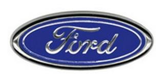 Emblema Oval Ford Azul Grande Grade F1000