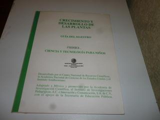 Libro Crecimiento Y Desarrolo De Las Plantas,guia De Maestr