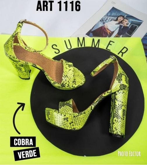 Zapatos Altos Cobra Art 1116