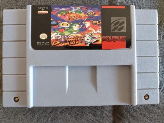 Cartucho Snes Super Nintendo - Super Bomberman - Paralelo
