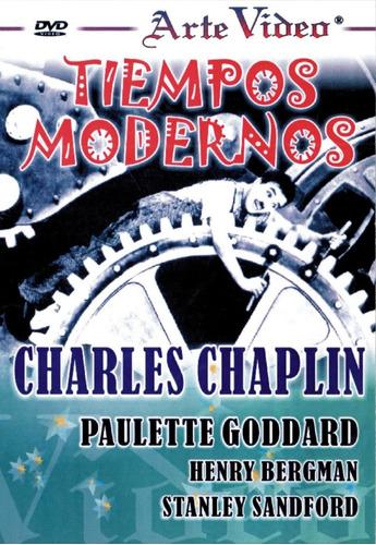 Tiempos Modernos - Charles Chaplin, Paulette Goddard