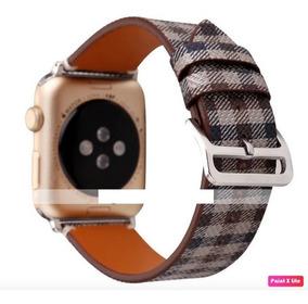 Pulseira Apple Watch Couro Sintético 42/44mm Série 1 2 3 4