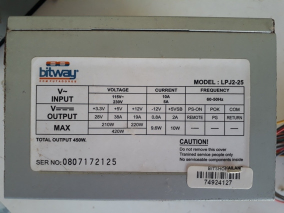 Essa Fonte Para Computador 420watts Reais Com Boa Ventilação