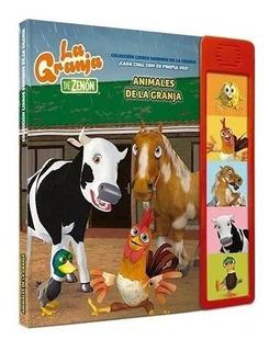 Coleccion Libros Con Sonidos De Granja De Zenon Nº1 Animales